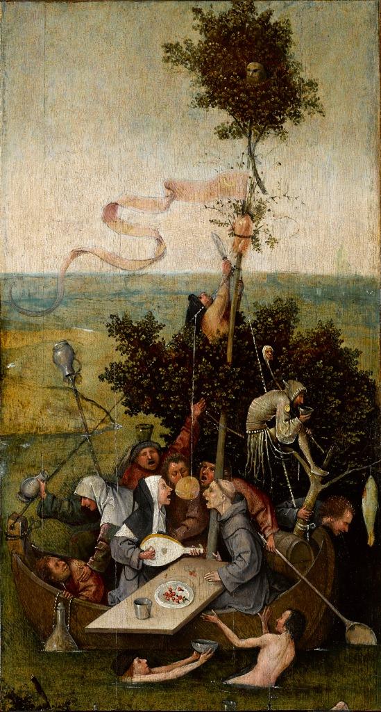 Hieronymus Bosch, Ship of Fools (c. 1490–1500)